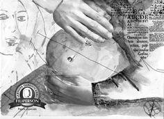 [ Primeiro post do mês de janeiro de 2016 ] Esse desenho eu fiz para ilustrar a crônica: 22 anos de puro aprendizado, um texto que fala sobre um dos papéis da mulher, o de ser mãe. A experiência mais incrível do mundo, transformadora e reveladora. O papel que utilizei como base foi o Profissional 30% de algodão Filiart Renaud 200g/m. Mais informações dos papéis na loja virtual: www.lojafilipaper.com.br