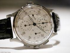 Universal Geneve Aero Compax #luxurywatch #Universal-Geneve Universal Geneve Swiss Watchmakers watches #horlogerie @calibrelondon