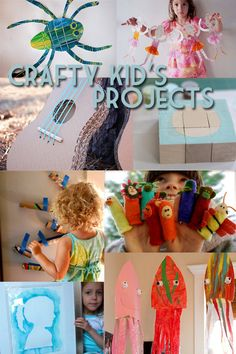 Crafty Kids's Projects - Make It Crafty: Cut, Stick, Paint & Paste