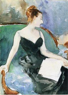 Madame Gautreau (1883) by John Singer Sargent