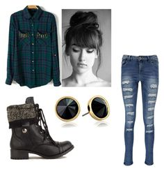 """Untitled #165"" by trinity-taylor-1 ❤ liked on Polyvore featuring moda, Boohoo e Trina Turk LA"