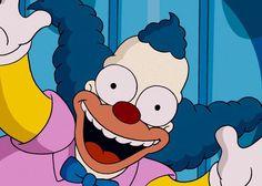 Krusty the clown art