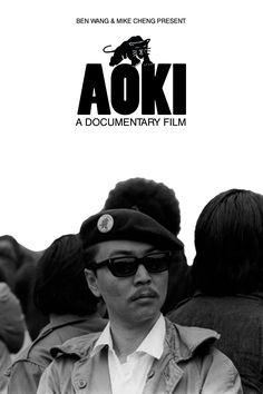 リチャード・アオキ;初代ブラックパンサー党メンバーの日系人  Richard Aoki, Japanese member of the first BLACK PANTHER PARTY.