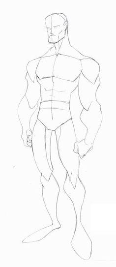 Animated Male Body Sketch 1 by ~skywarp-2 on deviantART