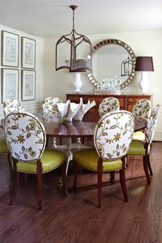 Inverness Circle - traditional - dining room - little rock - Tobi Fairley Interior Design