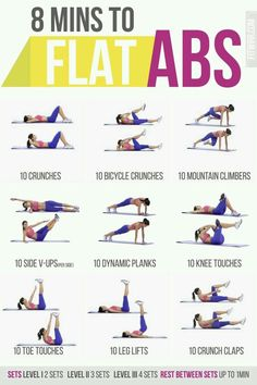8 minutes to flat abs | Posted By: AdvancedWeightLossTips.com