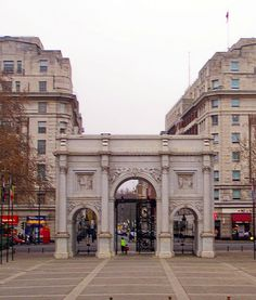 Marble Arch, London. Home sweet home for those 5 months.