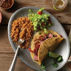 Recreate your favorite restaurant quality taco with our #HEBrecipe for Sirloin Tacos with Balsamic Onions.