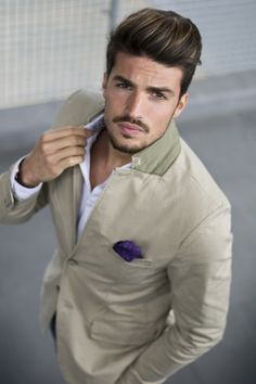 Wear it like a man! www.mdvstyle.com #marianodivaio
