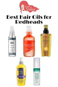 The Top 'Redhead Friendly' Hair Oils