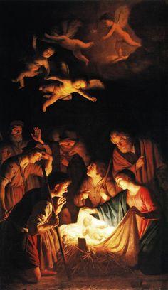 Gerard Van Honthorst - Adoration of the Shepherds