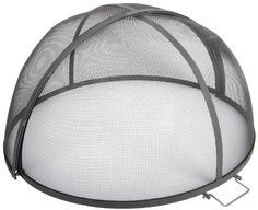 fire screen - fold-able dome for fire pit