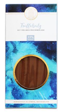 Vollmilchschokolade mit 35% Kakao und Trüffelsalz