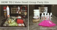 """""""Counselor Kit"""" rainy day idea. Cabin grabs a crate and does the party within."""