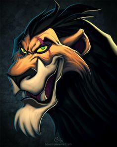 Disney Villains Scar by BoOoM on deviantART