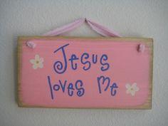 Jesus Loves Me ;)