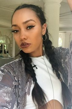 Leigh Anne Pinnock. This would be ravishing for a night on the town