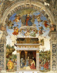 LIPPI, Filippino Italian Early Renaissance (ca.1457-1504)_Carafa Chapel - Altar…