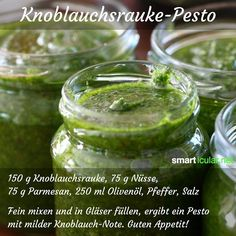 Wildpflanzen-Pesto selber machen