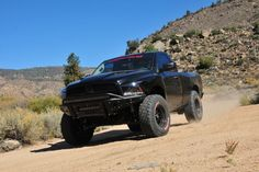 Ram Tough Chase Truck - Turning A Ram Into An Off-Road Gazelle