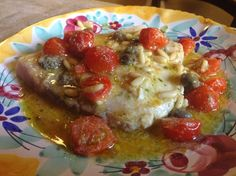 Sicilian recipe for swordfish is simple and easy!
