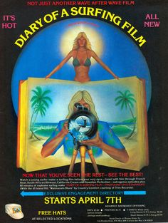 Old Surf poster.