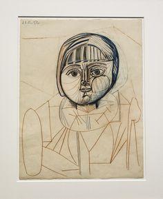 Pablo Picasso (1881-1973) Retrato de Paloma (1952) Musée national Picasso-Paris