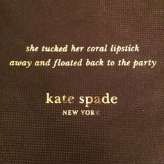 Dust Bag Large dust bag- never used. Kate Spade. Brown/pink. Perfect condition. Price firm  kate spade Bags
