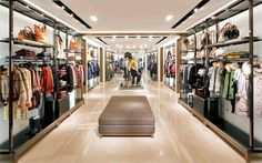 Burberry flagship store at Pacific Place, Hong Kong luxury
