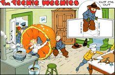 The Teenie Weenies by William Donahey  TW1947-01-05_-_Proof.jpg (3000×1982)