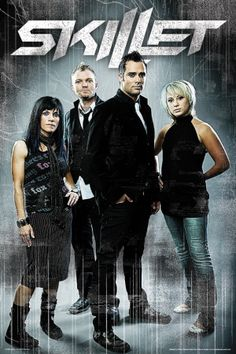 Skillet, a heavy metal, rock, Christian band Good Charlotte, Christian Rock Bands, Christian Music, Christian Metal, Christian Artist, Christian Singers, Music Is Life, My Music, Gospel Music