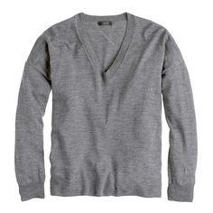 J.Crew - Merino boyfriend sweater