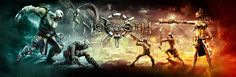 Beta preview of Nosgoth, a vampire themed arena combat game developed by Psyonix.