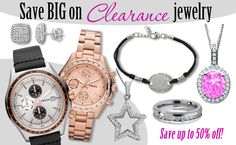 Save BIG on Clearance Jewelry & Watches! http://blog.jewelrywarehouse.com/2013/09/23/save-big-on-clearance-jewelry-watches/