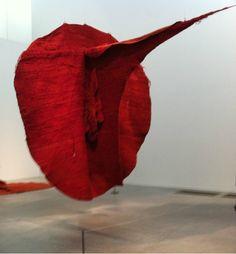 Magdalena Abakanowicz, Red Abakan  on ArtStack #magdalena-abakanowicz #art