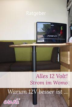 12V im Wohnmobil: Laptop, Licht, Router & mehr über 12 Volt laufen lassen ...