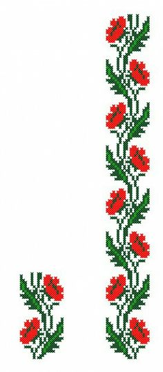 This Pin was discovered by bin Cross Stitch Boarders, Cross Stitch Bookmarks, Crochet Bookmarks, Beaded Cross Stitch, Cross Stitch Rose, Cross Stitch Flowers, Cross Stitch Designs, Cross Stitching, Cross Stitch Embroidery