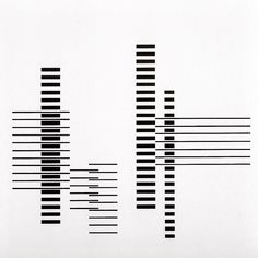 Josef Albers - Rhythm - 1958 | Bauhaus