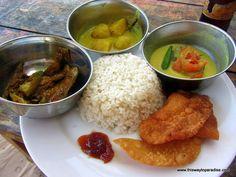 Rice and curry #Sri Lanka #Travel