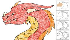 Art Projects for Kids: How to Draw a Dragon