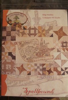 Spellbound Embroidery Pattern By Crabapple Hill by thestockroom, $18.50