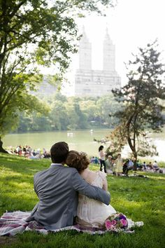 Central Park wedding picnic