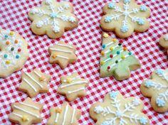 Gluten free christmas cookies - Biscotti di natale a base di pasta frolla senza glutine