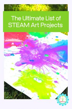 Looking for STEM art ideas? These STEAM art projects combine elements of STEM with elements of art or design, transforming them into STEM art projects! Preschool Science Activities, Steam Activities, Summer Activities For Kids, Science Experiments Kids, Preschool Art, Preschool Activities, Kid Science, Summer Kids, Steam Art