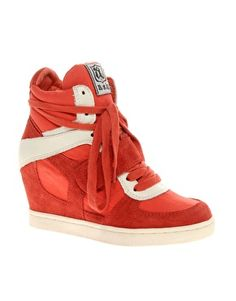 Ash Cool Suede Strapped Wedge Sneakers $248.88 from ASOS