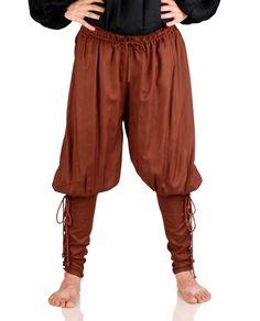 Mens Pirate Captain Renaissance Medieval Poet Costume Pants Brown S/M L Xl 2Xl Renaissance Pirate, Renaissance Fair Costume, Medieval Costume, Renaissance Clothing, Medieval Fashion, Larp, Cool Costumes, Cosplay Costumes, Medieval Pants
