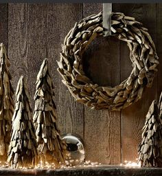 drift wood decor for the holidays