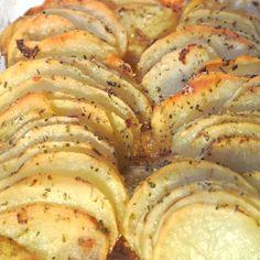 Mamã, o que é para o jantar: Crispy batata assada