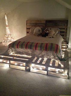 Fascinating DIY Pallet Bed Designs :: Home design ideas,DIY Creative Ideas, Craft Ideas,Art Design