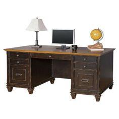 Double Pedestal Desk Office Depot
